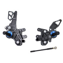 Driven D-Axis Adjustable Rear Sets for GSXR1000 07-08