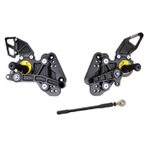 Driven D-Axis Adjustable Rear Sets for GSX1300R 99-07
