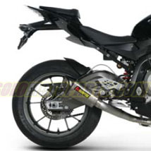 Akrapovic Evolution Full Exhaust System (Shorty Hex) for S1000RR 10