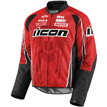 Icon Men's Hooligan 2 Threshold Jacket Red