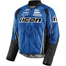 Icon Men's Hooligan 2 Threshold Jacket Blue