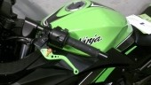 Green levers on Ninja 300