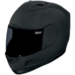 Icon Alliance Dark Helmet Black