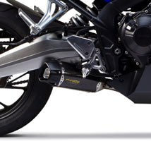 Two Brothers Tarmac Full Exhaust for CBR650F 14-16
