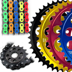 Driven Kawasaki Race 520 Conversion Chain & Sprocket Kit